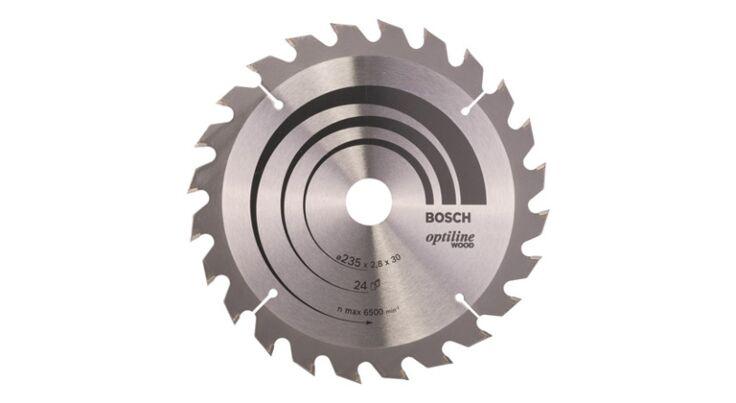 Bosch Cirkelzaagblad - 235mm - 24T