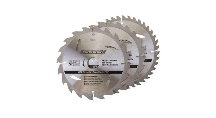 3-delige Cirkelzaagbladenset - 190mm