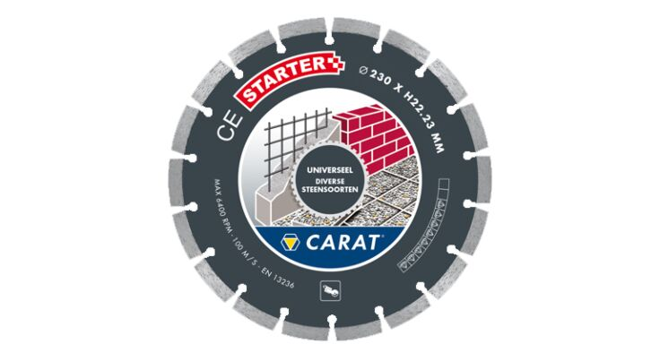 Diamantschijf - 230mm - Premium